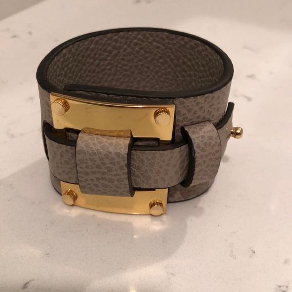 India Hick leather cuff